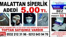 Siperlikli Maske-Bez Maske