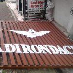 adirondack crom harf led ışıklı