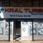 kral turbo teknik oto san. sit. topkapı. kutu harf ışıklı reklam