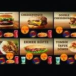 Burgermax menü ağrı