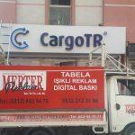cargo tr, giyimkent,kompozit zemin, kutu harf,led ışıklı
